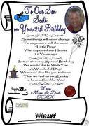 21st Birthday Card Son