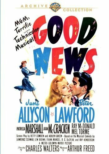 GOOD NEWS - (1947 June Allyson) Region Free DVD - Sealed