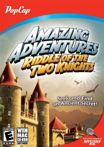 Computer Games - Amazing Adventures Riddle Of The Two Knights PC Games Windows 10 8 7 XP Computer