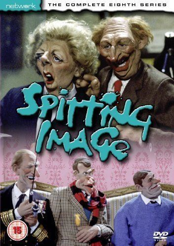 SPITTING IMAGE the complete eighth series 8. New sealed DVD.