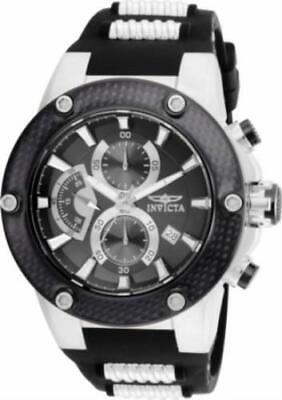 Invicta 22400 50mm Speedway Viper Quartz Chronograph Silicone Strap Men's Watch
