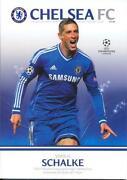 Chelsea Champions League Programme