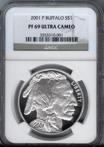 Silver Buffalo Proof Ebay