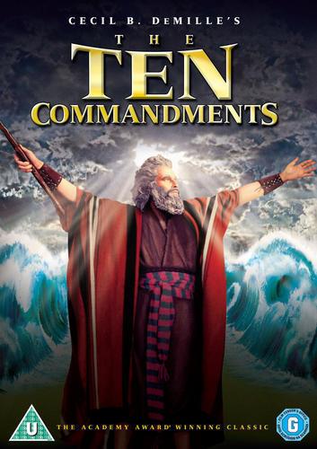 The Ten Commandments [DVD]
