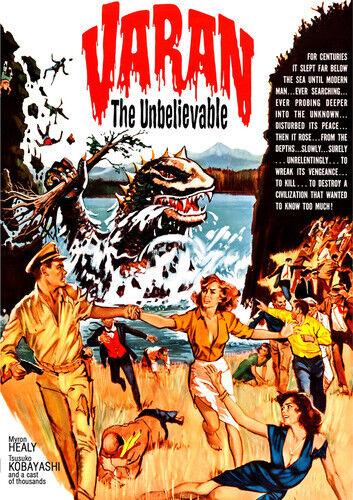 Varan The Unbelievable [new Dvd]