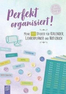 Perfekt organisiert! Meine 1111 Sticker für Kalender, Lehrer,