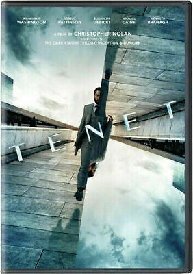 Tenet (DVD,2020) NEW* Action, Sci-Fi, Thriller* FREE SHIPPING!!!