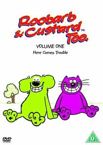 ROOBARB And CUSTARD TOO - Volume 1 DVD - New & Sealed (Richard Briers)