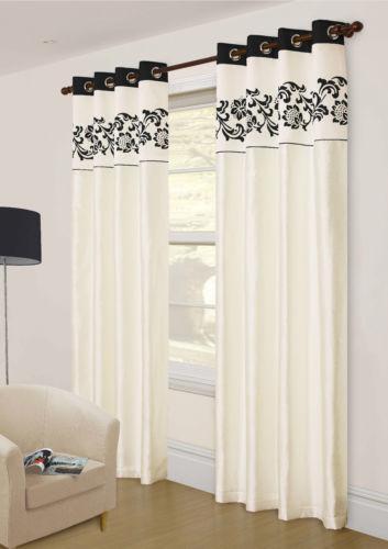 Designer Ready Made Curtains Ebay