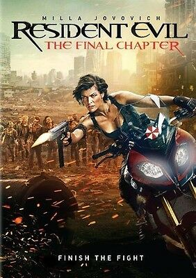Resident Evil: The Final Chapter (DVD, 2017) Sealed New Free shipping