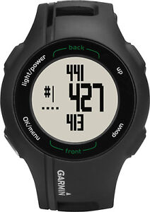 Garmin - Approach S1W Golf GPS Watch - Black