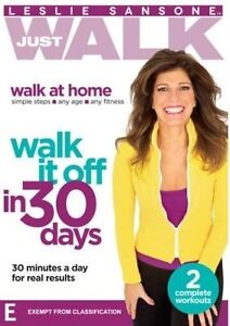 Leslie Sansone: Just Walk it Off in 30 Days * NEW DVD * fitness exercise