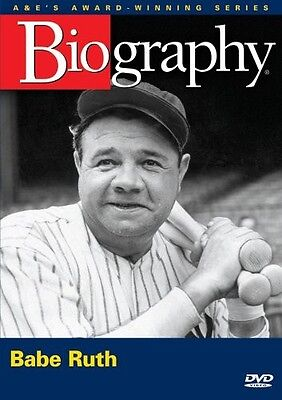 Biography  Babe Ruth  A E Documentary  New And Sealed