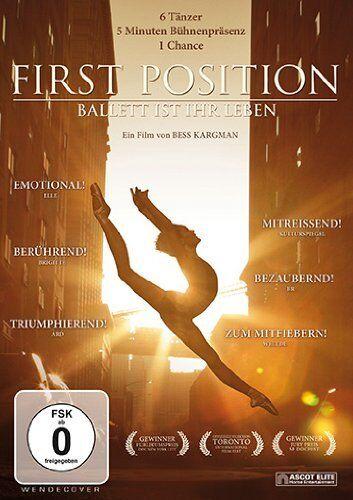 DVD * FIRST POSITION - BALLETT IST IHR LEBEN # NEU OVP §