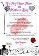 Mothers Day Card Mum