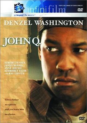 John Q  Dvd Denzel Washington  Robert Duvall  Gabriela Oltean  Kimberly Elise  R