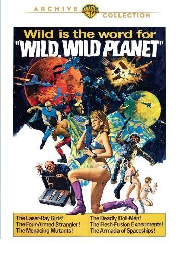 WILD WILD PLANET - (1965 Tony Russel) Region Free DVD - Sealed