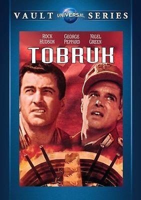 Tobruk DVD 1967 Rock Hudson George Peppard (MOD DVD-R)