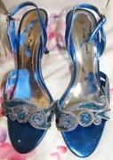 Blue Shoes Size 7