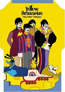 The Beatles Yellow Submarine Fold & Mail Stationary!