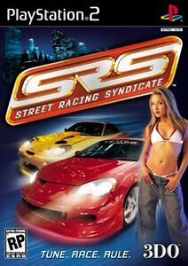 JEU GAME SRS: Street Racing Syndicate SONY PS2 PLAYSTATION