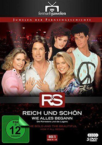 Reich und Schön - Box / Staffel 5: Wie alles begann, 5 DVD NEU + OVP!
