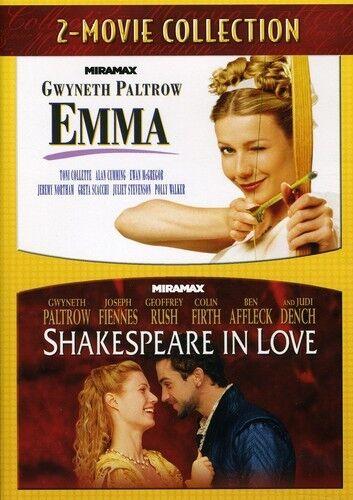 Emma/Shakespeare in Love [2 Discs] (2011, DVD NEW)