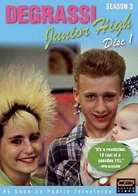 Degrassi Menor Alta - Temporada 3 , Disco 1 Nuevo DVD