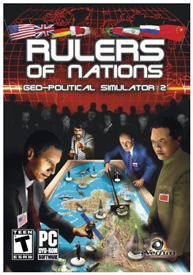 Computer Games - Rulers of Nations Geo-Political Simulator 2 PC Games Windows 10 8 7 XP Computer