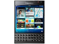 BlackBerry PASSPORT QWERTZ BLACK 32GB 4.5IN LTE, PRD-59182-026 (32GB 4.5IN LTE)