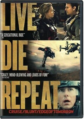 Edge of Tomorrow - Live Die Repeat: Edge of Tomorrow [New DVD] Ac-3/Dolby Digita