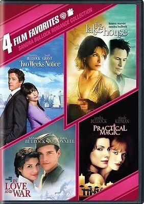 4 Film Favorites Sandra Bullock New Dvd Cut Upc Lake House Practical Magic