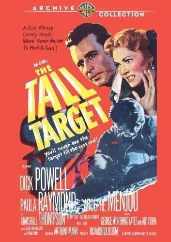 TALL TARGET - (B&W) (1951 Dick Powell) Region Free DVD - Sealed