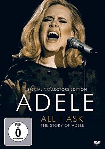 ADELE - ALL I AKS-THE STROY OF ADELE  DVD NEU