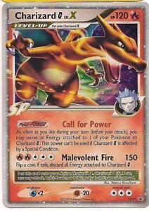 Pokemon Cards Charizard X