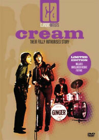 Cream - Their Fully Authorised Story [DVD] - New Sealed