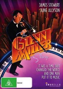 THE GLENN MILLER STORY DVD 1954 NEW Region 4 James Stewart, June Allyson