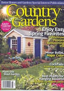 Attirant Country Gardens Magazine