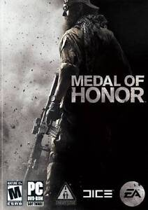 MEDAL OF HONOR A SHOOTER GAME  for PC XP/VISTA/7 SEALED NEW