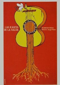 The Roots of Salsa Cuban Movie Poster  A2 Reprint