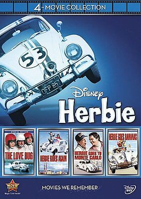 Disney's Herbie The Love Bug 4-movie Collection 201​2 Dvd
