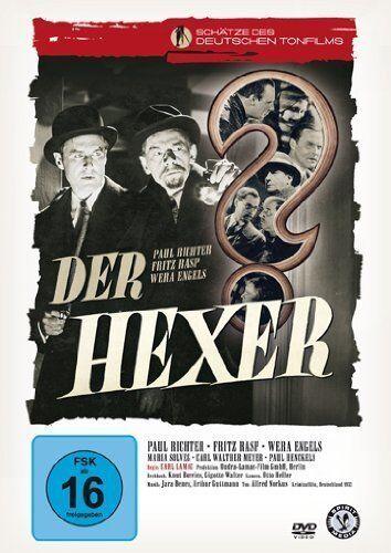 DER HEXER - Paul Richter, Fritz Rasp (DVD) *NEU OVP* Edgar Wallace