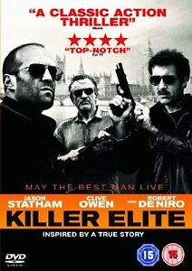 Killer Elite  DVD Jason Statham, Clive Owen, Robert De Niro, Dominic Purcell, Yv