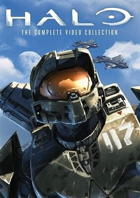 HALO COMPLETE VIDEO COLLECTION New Sealed DVD Legends Dawn Nightfall Reach