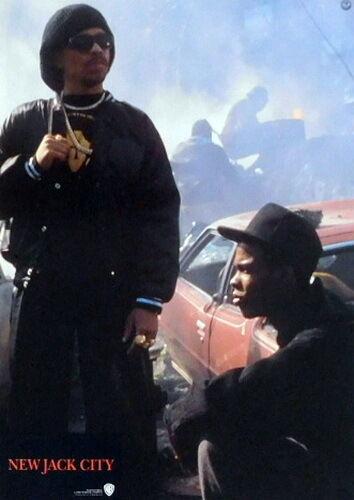 Ice-T Chris Rock NEW JACK CITY lobby cards 12 original vintage stills 1991
