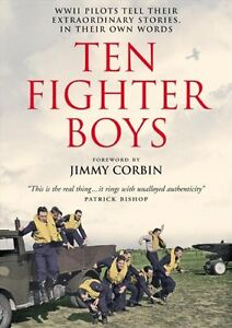 Ten Fighter Boys By Jimmy Corbin,Wing Commander Athol Forbes D.F.C.,Squadron-Le