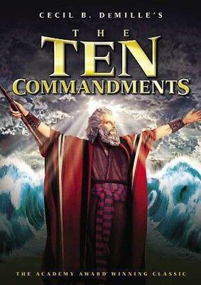 The Ten Commandments [New DVD]