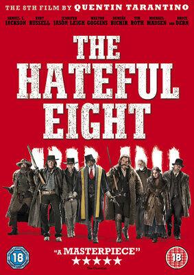 The Hateful Eight DVD (2016) Kurt Russell, Tarantino (DIR) cert 18 Amazing Value