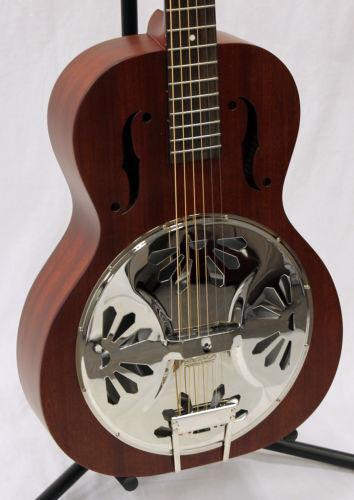 gretsch resonator guitar ebay. Black Bedroom Furniture Sets. Home Design Ideas