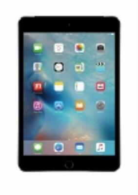 Apple iPad mini 4 128GB, Wi-Fi + Cellular 7.9in - Space Gray MK8D2LL/A (A1550)